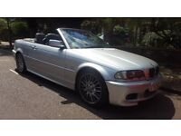 BMW 325 M Sports CONVERTIBLE Auto LEATHER Hard Top Included