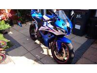Honda cbr 600 rr not r6 ninja gsxr