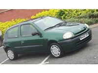 Renault Clio 1.2 only 60 k miles 12 months mot FSH