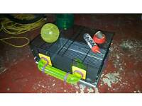 Hamster cage small rodent cage good condition Rotastak