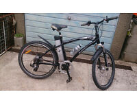 Electric bike Men's lifecycle sport , has a new battery and other new parts, this is a nice bike