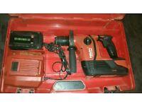 HILTI TE6-A36 Cordless drill 2x battery 36V 3.0Ah