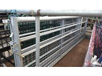 Galvanised field gate 12 ft and 10 ft