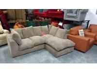 Lovely fabric corner sofa for 195