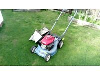 LAWN MOWER HONDA IZZY/ FLYMO HOVER/ FLYMO GARDEN VAC FOR SALE SEE ADD
