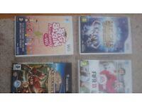 Wii football Sing Musicals Big brain gamecube controller