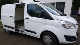 REFRIGERATED/CHILLER VAN - FORD CUSTOM WITH STAND-BY 2198cc