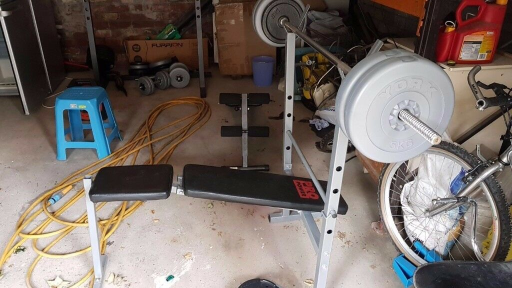 squat rack and bench press for sale
