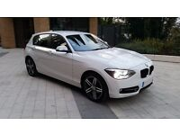 BMW 1 Series 116i Sport - Alpine White - 64 Plate - Excellent Condition and Low Mileage (4,500)