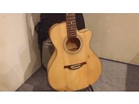 HOFNER HA-GC05 ELECTRO ACOUSTIC GUITAR (COLLECTION ONLY)
