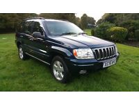 Jeep Grand Cherokee 4.0 LPG GAS 9 Months Mot tow bar