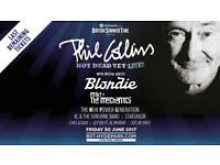 2 x Phil Collins Priority entry Hyde Park