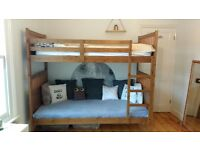 IKEA Bunk Bed and Matresses