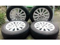 """Rover 25/45 MG ZR/ZS 15"""" Alloy Wheels"""