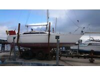 JEANNEAU ATTALIA 32, 6 berth sailing cruiser. £16500 UNDER OFFER