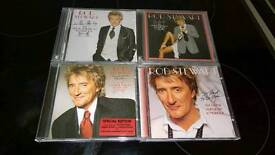 ROD STEWART THE GREAT AMERICAN SONGBOOK CDS VOLUMES 1-2-3-4.NEW.