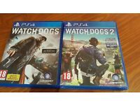 Watch Dogs and Watch Dogs 2 Ps4