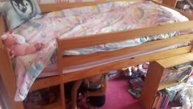 Childrens mid sleeper
