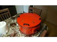 ITIMAT ELECTRICAL ROASTER/GRILL ROUND OVEN FOR CHICKEN ,PIZZAS, 1 Enamel Tray