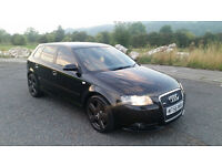 Audi A3 2.0 TDI S Line 170 Sportback 5dr BOSE, LEATHER, GENUINE XENONS , REMAP DPF REMOVED