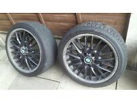 "BMW 18"" mv1 wheels genuine"