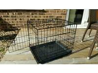 Dog crate/ carry cage.