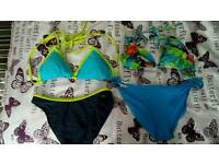 8 x Women's bikinis size 10