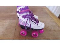 SFR pink roller boots size UK 11, £15 great condition