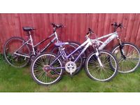 Collection of old bikes, Road bike. Mountain bike, Kids bike. Spare and repairs £20 ono
