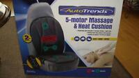 BRAND NEW   Massage and Heated seat for home or car
