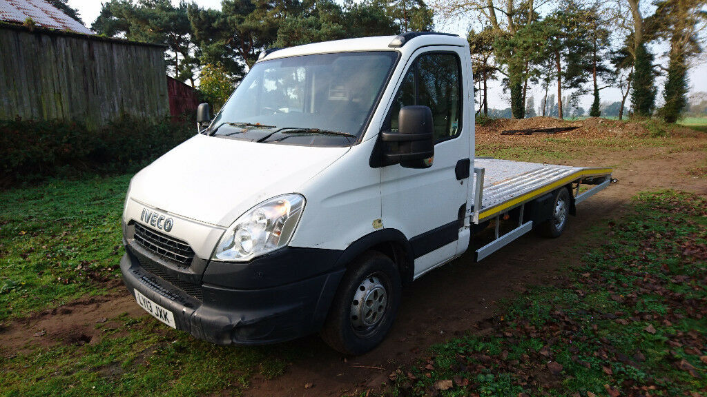 IVECO DAILY RECOVERY TRUCK 2013 LOW MILAGE ALUMINIUM BODY HPI CLEAR