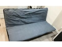 IKEA sofa bed, steel frame