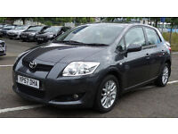 2007 57 TOYOTA AURIS 2.0 TR D-4D 5d 125 BHP *PART EX WELCOME*FINANCE AVAILABLE*WARRANTY AVAILABLE*