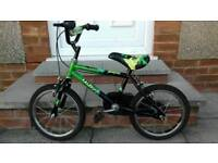 "Raleigh Monster 14"" wheel child's bike in new condition"