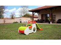Smoby adventure Car children's play house activity center slides garden outdoor toys