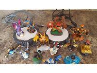 XBox 360 Skylanders sets with figures