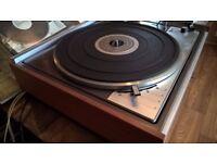 Swiss Made Lenco L75 Leak Delta HI-FI Record Turntable in Original Box