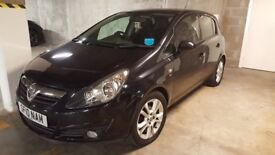 Vauxhall Corsa 1.2 in black low mileage