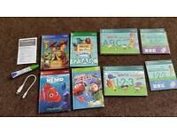 Leapfrog Leapreader & six interactive books
