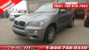 2010 BMW X5 Leather, Heated seats, DVD in headrests, Navigation