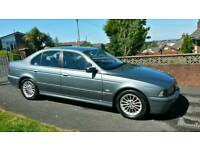 Low miles manual bmw e39 5 series full mot