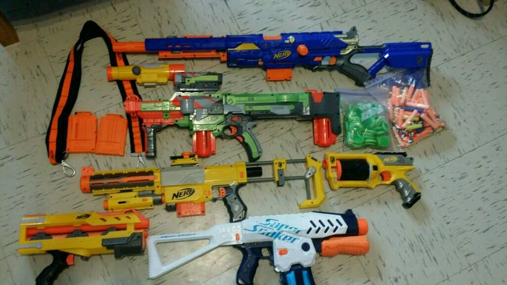 Modified nerf nite finder discontinued