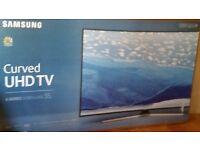 "brand new unopened box Samsung 55"" 6100 6 Series Curved UHD"