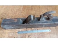 Antique woodworking plane - shed fresh