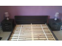 King size bed in pristine condition