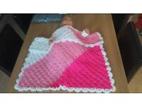 Baby carseat blanket