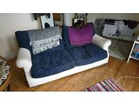 Large goose feather filled sofa