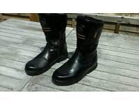 Hein Gericke Bullson Ladies Motorcycle Boots size 6