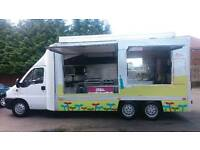 Catering van for private hire