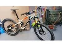 Mountain bike frame and forks for sale